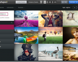 Photobox Joomla Template